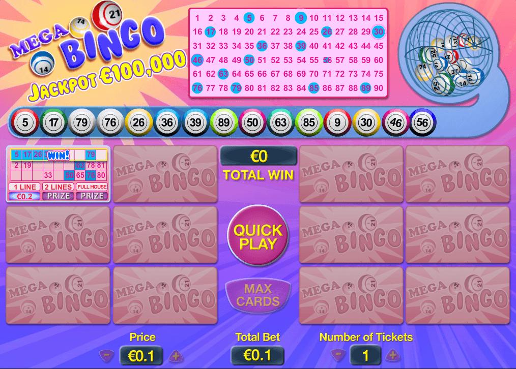 Jugar bingo comienzo