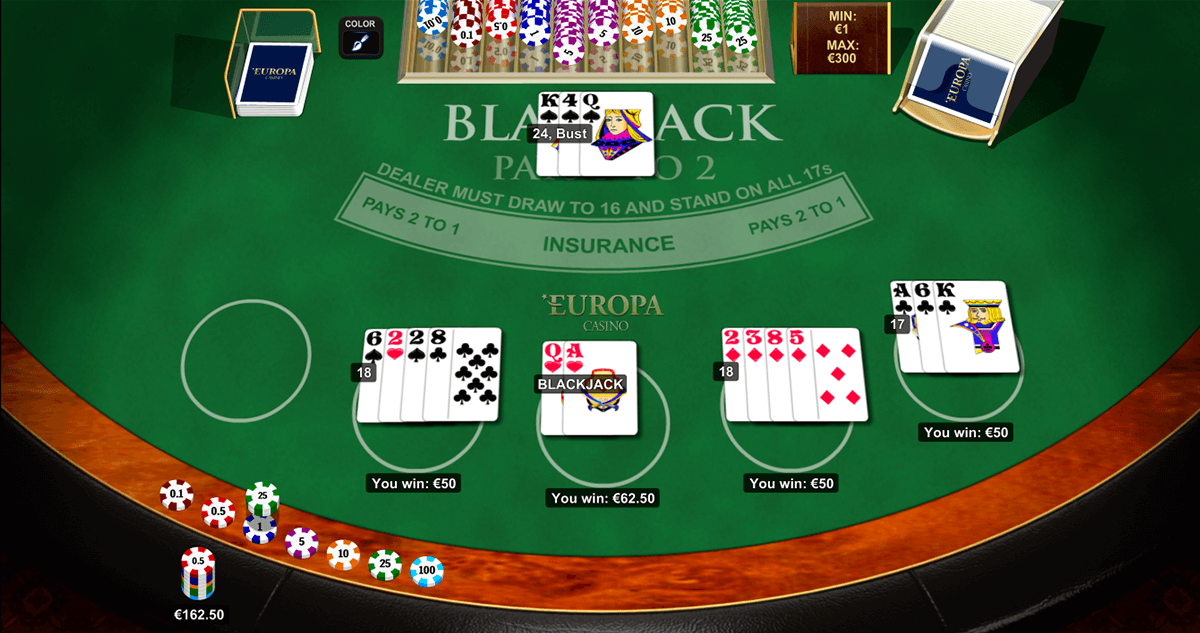 Blackjack por dinero real - 54783