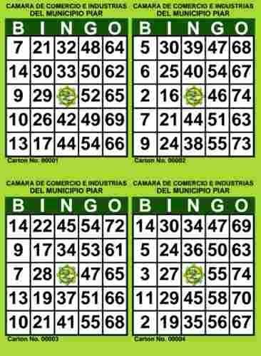 Cartones de bingo thelotter-13703