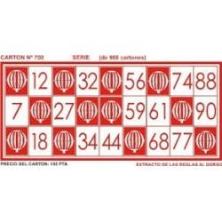 Puede pagar bingo cartones-53718