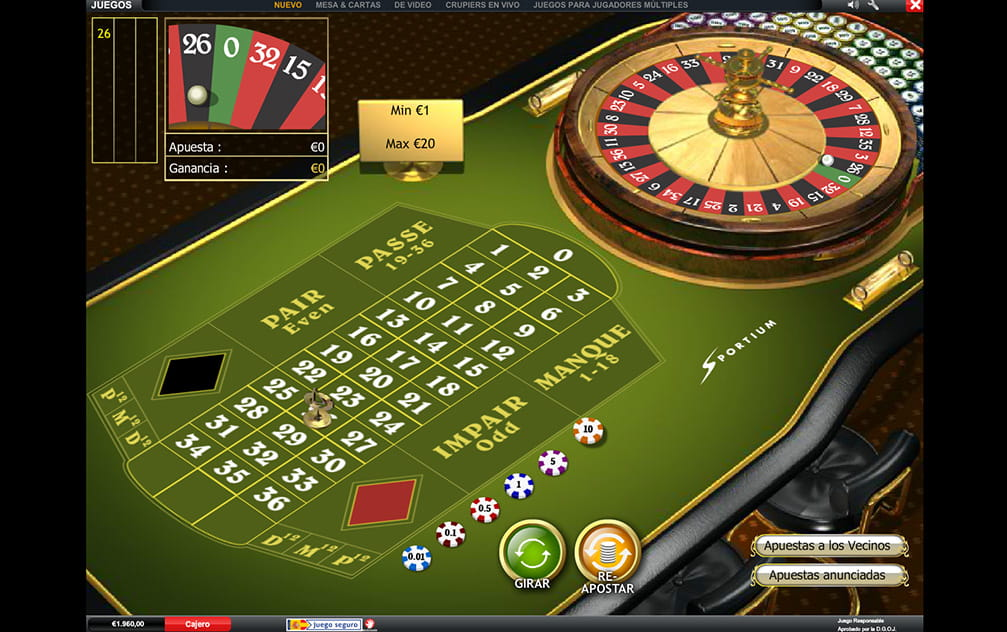 Ruleta en vivo palace - 13292